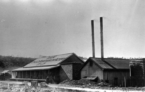 Darling Downs Co-Operative Bacon Factory, Toowoomba. 1920