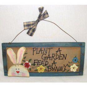 Plant a Garden, Feed a Bunny: