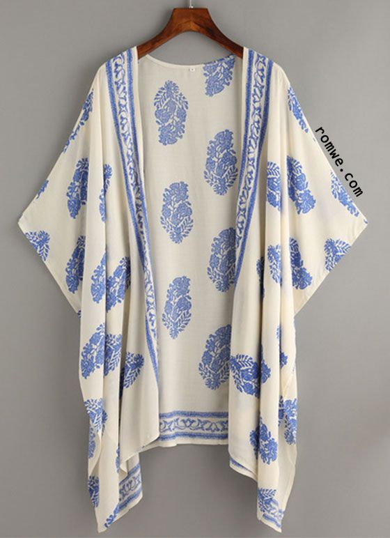 Vintage kimonos and retro muster on pinterest - Kimono schnittmuster kostenlos ...