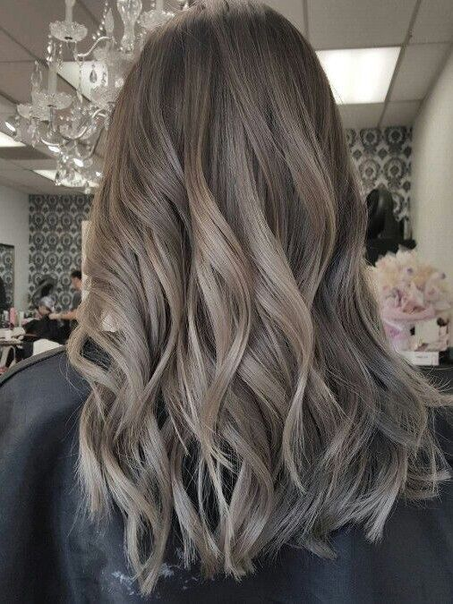 Greige Hair Is Trending And You Ll Actually Want To Try This Cool Neutral In 2020 Hair Color For Morena Hair Color For Morena Skin Hair Inspo Color