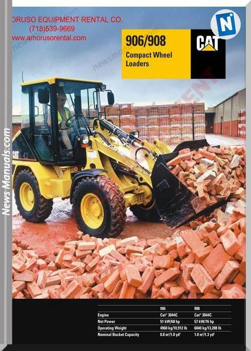 Caterpillar 906g Technical Specifications Heavy Equipment Hot Rods Cars Muscle Electrical Diagram