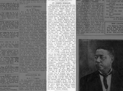 St. Joseph, Missouri news on March 31, 1917 on page 2