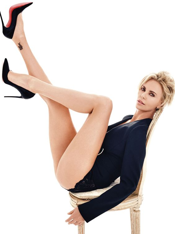 Charlize theron, GQ and Photoshoot on Pinterest