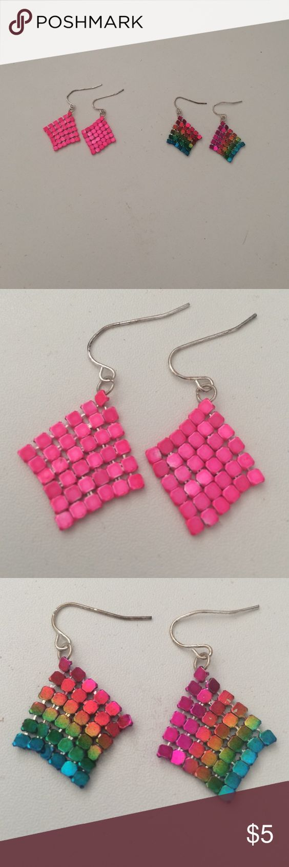 Earring bundle Make an offer!!! Have had a lot of use! Justice Jewelry Earrings