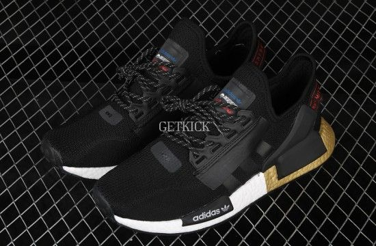 adidas nmd r1 v2 black gold