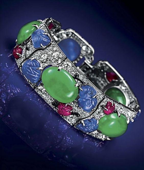 Cartier Jade Tutti Frutti