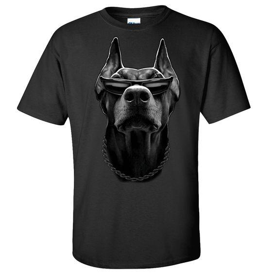 Doberman Sunglasses Dog T-shirt/tee