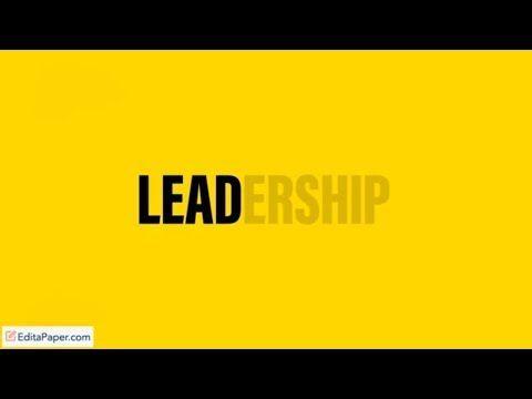 Leadership College Essays