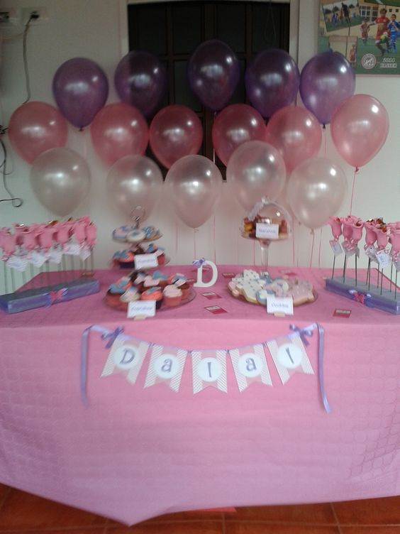 Baby shower para ni a decoraciones bautizos comuniones - Decoracion de baby shower nina ...