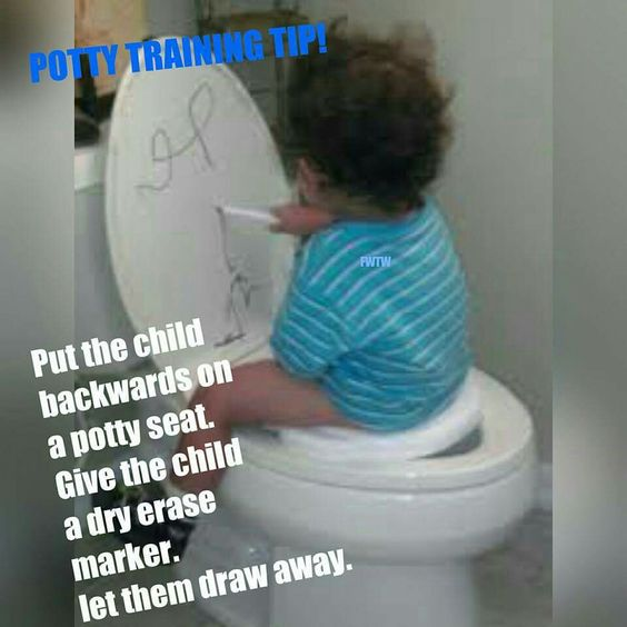 Would've Never Thought Of That. Then Again You Would Have To Clean The Toilet Lid Afterwards!