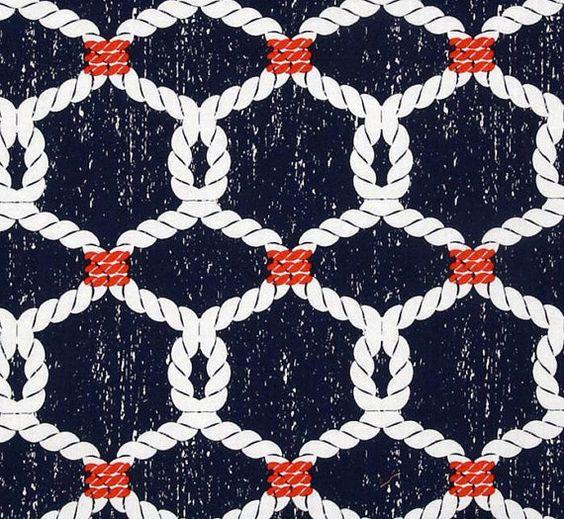 Custom Made Dusche Stoff Dusche Vorhang nautische Dusche Vorhang Vorhang marineblau Badezimmer Dekor nautische Knoten rot weiß blau Mariner