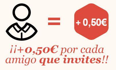 ¡GELT es la leche! Te devuelve dinero en efectivo de tus compras en el súper. Además, por enchufado ;) gana tus primeros 0,50€. Los primeros, porque si traes a más peña/gente seguirás ganando 0,50€ ¡por cada uno!  Sólo tienes que descargarte gratis la app ( http://m.onelink.me/27aa253f ), registrarte y meter este código 3PGK1 ¡Diviértete ahorrando!