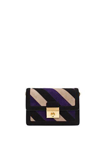 Dolce&Gabbana Borse a Spalla Donna Camoscio Nero #borse