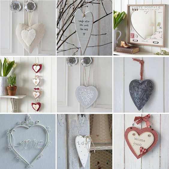 cuori: La Decorazione, Valentine S Ideas, Home, Hearts, Cuori Hearts, Mine, Cuori Cuori