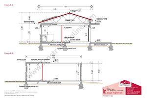 Plan maison gratuit plan maison pinterest - Plan maison bioclimatique gratuit ...