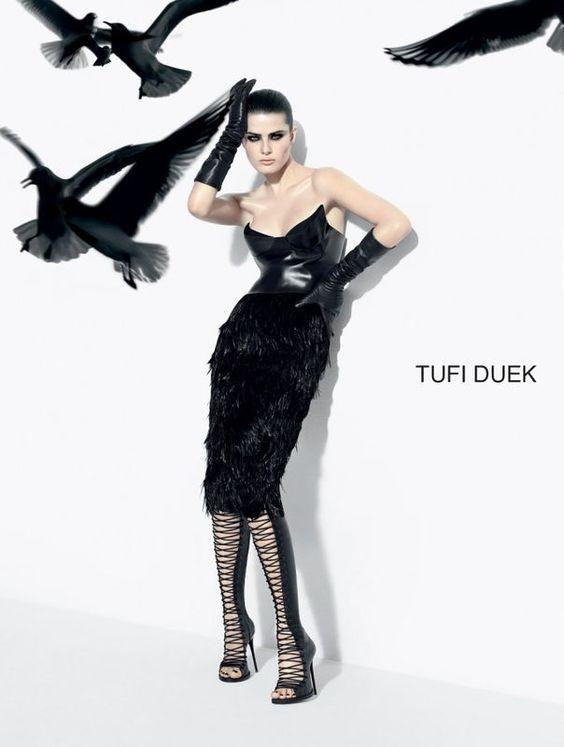 Isabeli Fontana for Tufi Deuk (Brazil) FW 2013 Campaign