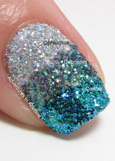 Adventures In Acetone: Lime Crime Zodiac Glitter Review!