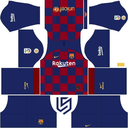 Barcelona Kit Dls 19 20 Rakuten Barselona Fk Barcelona Barselona Futbol I Barselona In 2020 Barcelona Soccer Barcelona Football Kit Soccer Kits