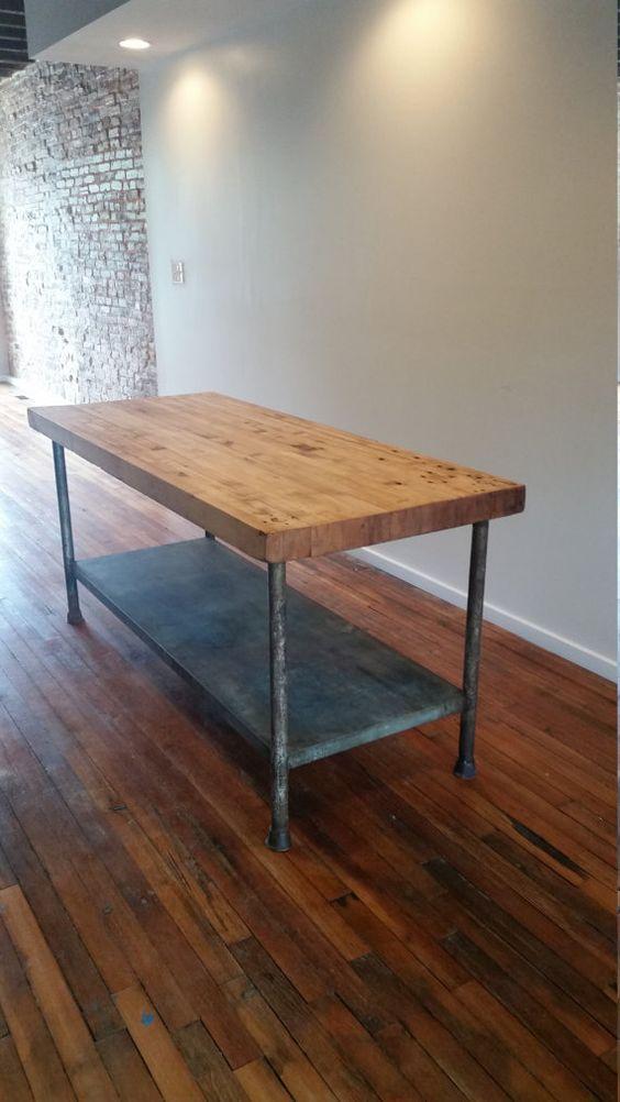 Bäcker-Tabelle-Kücheninsel