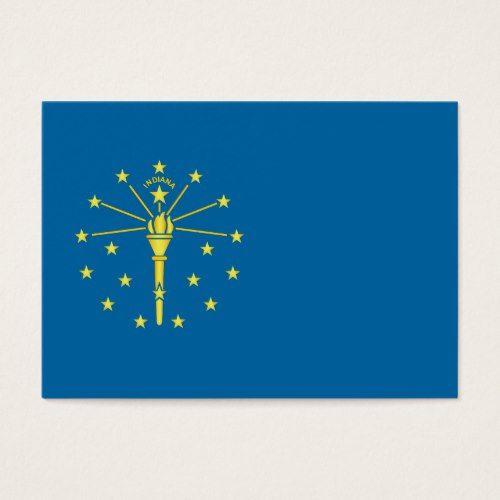 Flag Of The State Of Indiana Zazzle Com Indiana State Flag Flag Indiana Flag