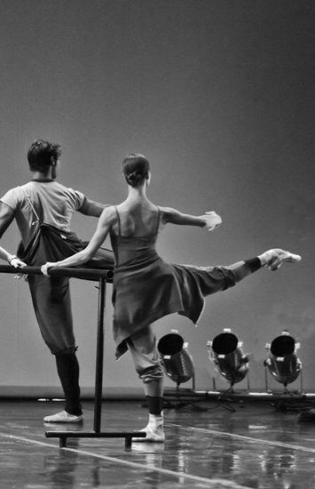 El trabajo duro es el único camino al éxito! Prima Ballerina: oh those arches!