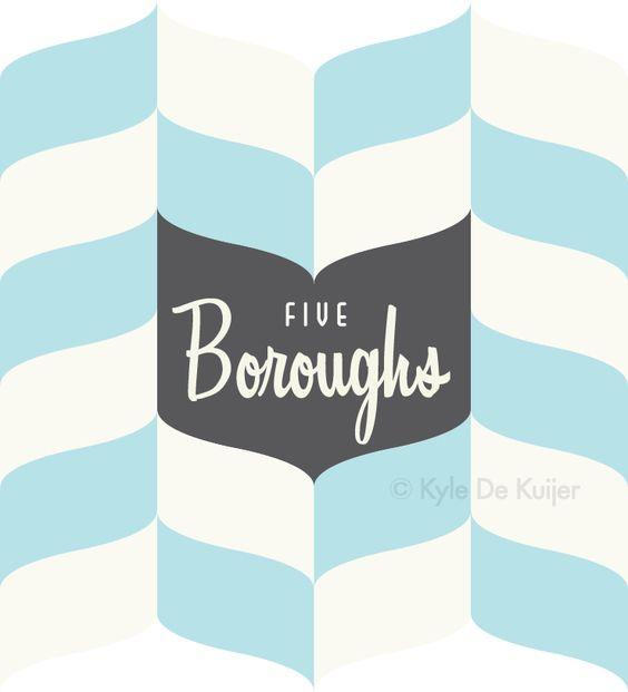Design for Brunswick based store 'Five Boroughs'. Kyle De Kuijer.