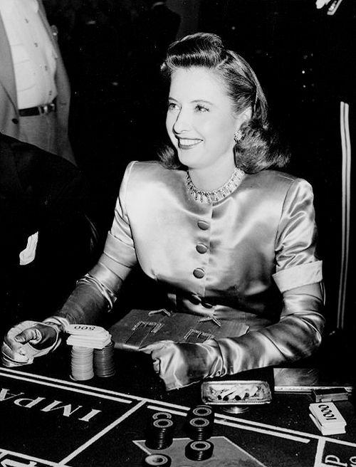 #Gambling #History - #Barbara #Stanwyck