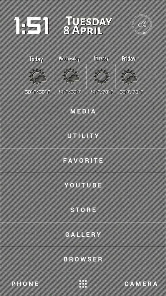 [Homepack Buzz] Check out this awesome homescreen! Preston James it has it all and a simple layout