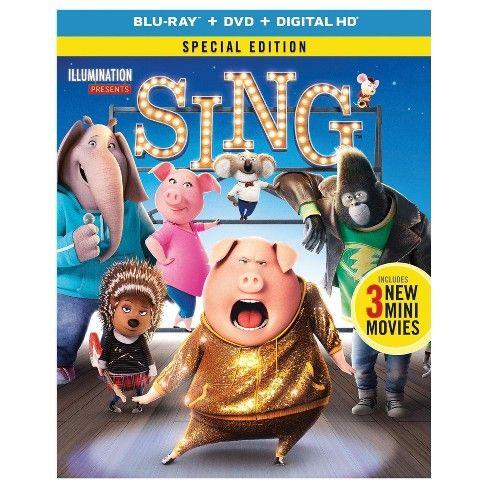 Sing Blu Ray Dvd Digital Chant Films En Famille Films Complets