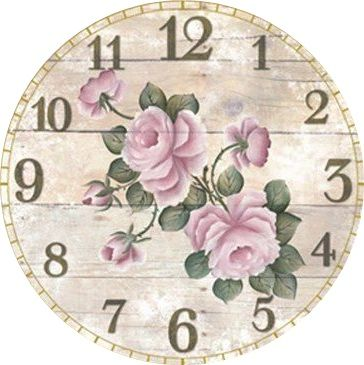 Antique Clock Face Graphics from School Book | Graphics, Antiques ...