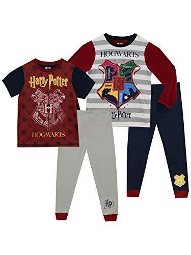 Gryffindor Harry Potter Ensemble De Pyjamas Fille Bien Ajust/é