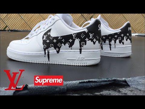 8) Louis Vuitton Drippy custom Nike Air