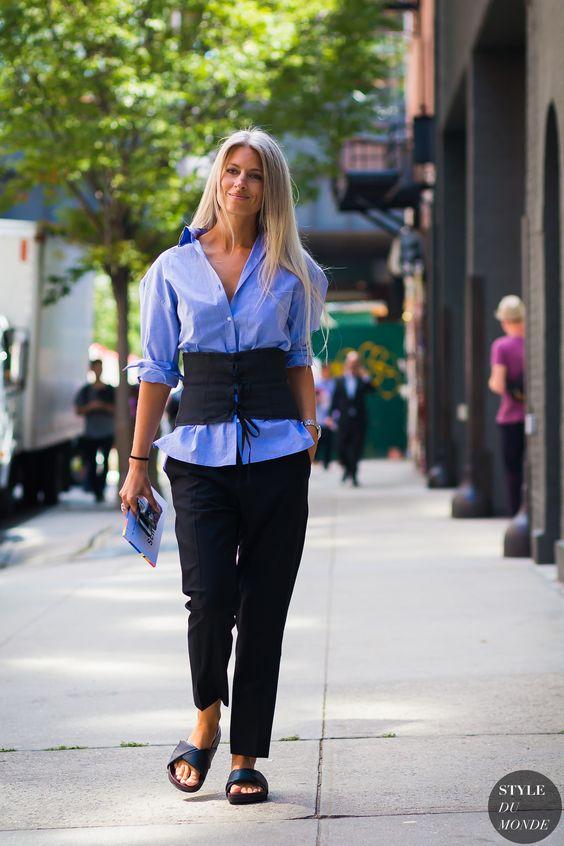 New York SS 2017 Street Style: Sarah Harris