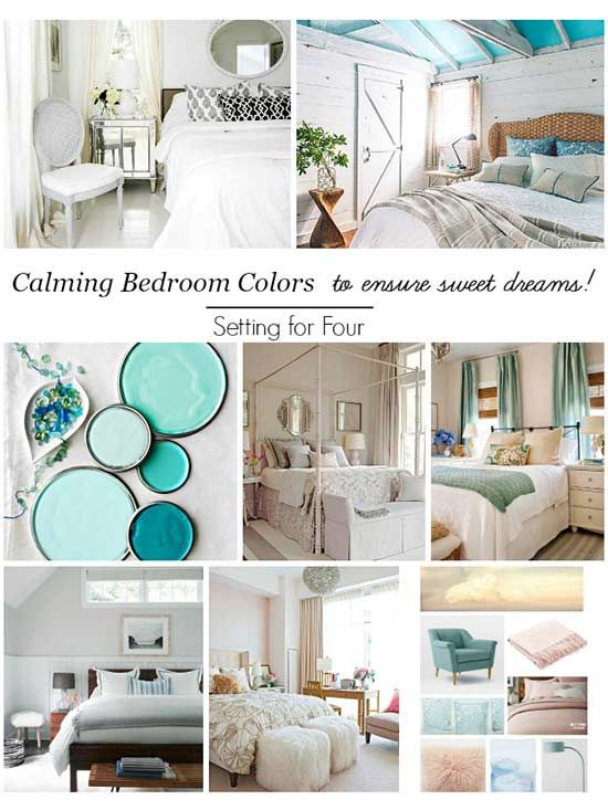 Calming Bedroom Colors To Inspire Sweet Dreams Pinterest