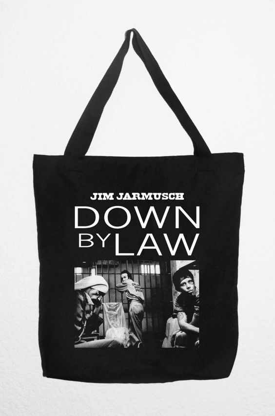 TOTE BAG DOWN By Law Jim Jarmusch Tom Waits John Lurie por RetroBCN