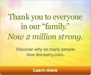 Genealogy, Family Trees & Family History Records at Ancestry.com