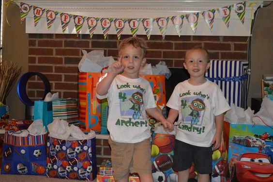 Super Why 4th Birthday (Twins) | CatchMyParty.com