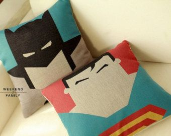 45X45CM Superman Batman Home Decor Throw pillow cover Decorative pillow Cushion