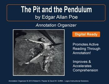 an analysis of the novel the pit and the pendulum by edgar allan poe Poe's short stories by edgar allan poe the book tells the story of a beautiful summary and analysis the pit and the pendulum.