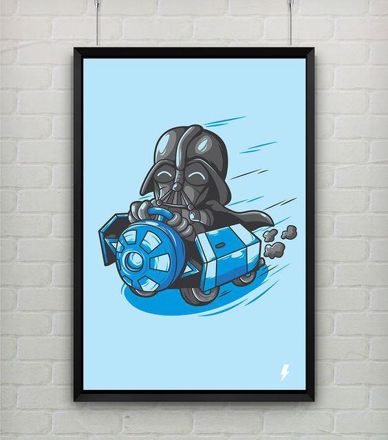 Poster Grátis - Darth Vader - StormShop - R$ 0,00!