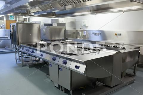 Picture Of Restaurant Kitchen Stock Photos Ad Restaurant Picture Kitchen Photos Commercial Kitchen For Rent Restaurant Kitchen Kitchen Stocked