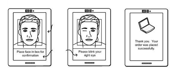 Et le selfie pour acheter en ligne, vous êtes prêts ? - Les mots de passe faciles à hacker c'est bientôt fini. Amazon vient de déposer le brevet pour le e-paiement via selfie pour acheter en ligne...