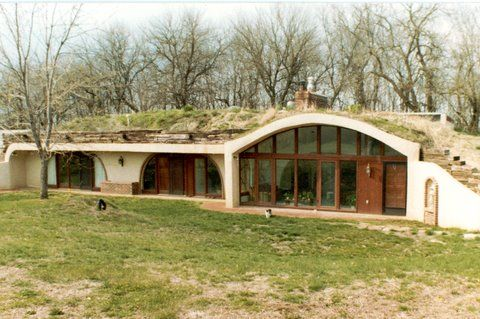 earth berm homes - Google Search: