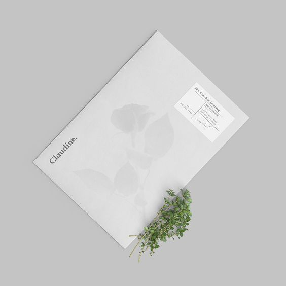 Claudine Floral Shop on Behance