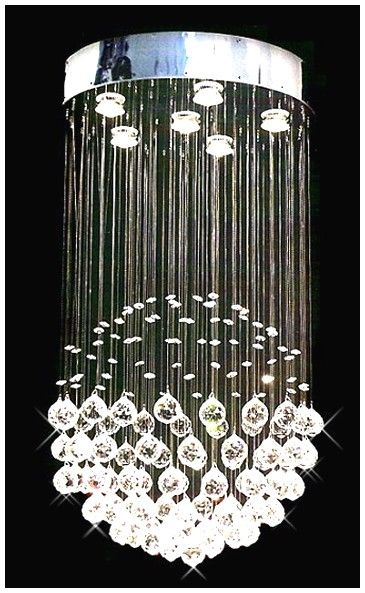 Modern Crystal Chandelier: