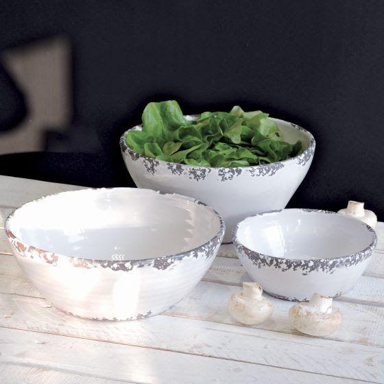 #Saladier blanc céramique #interiordesign #deco #cuisine