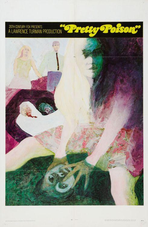 US teaser poster for PRETTY POISON (Noel Black, USA, 1968)