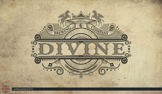 Logo for Divine Brewing, still waiting for feedback client.
