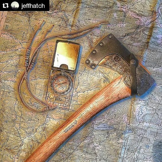 Where will you go next? #iconicsurvival  Photo by @jeffhatch  #bushcraft #nature #outdoors #survival #wildernessculture #wilderness #compass #mountains #camping #instanature #hills #forest #axe #sweden #alaska #colorado #alone