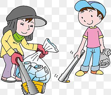 เด กเก บขยะ เด ก เก บขยะ การ ต นภาพ Png และ เวกเตอร สำหร บการดาวน โหลดฟร Kids Clipart Pick Up Trash Kids Background